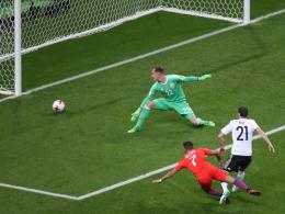 Stindl rettet einen Punkt gegen Chile