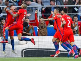 Rodriguez sorgt für Entspannung: Chile im Halbfinale