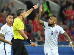 Vidal erlöst Chile spät - Vargas muss zweimal zittern