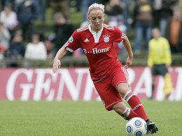 Schnürt nächste Saison für Duisburg die Stiefel: Mandy islacker.