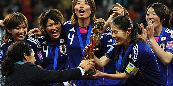 Grenzenloser Jubel: Diese WM war ein Frauenfu�ballfest von nie gekannter Dimension - mit einem �berraschenden Sieger.