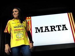 Neuzugang beim schwedischen Erstligisten Tyresö FF: Marta.
