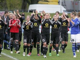 Das Finale ist erreicht: Der FFC Frankfurt schlägt Arsenal auch im Rückspiel.