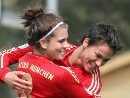 Sarah Hagen und Nicole Cross