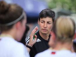 Anouschka Bernhard, U-17-Trainerin der DFB-Auswahl