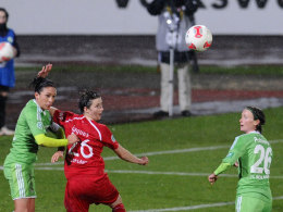 Sorgte für die Wende gegen Potsdam: Wolfsburgs Nadine Keßler (li.).