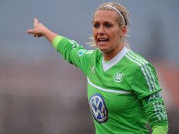 Auch die Wolfsburgerin Lena Goeßling musste das USA-Spiel absagen.