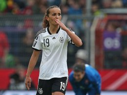 Drei Treffer gegen die Slowakei: Fatmire Alushi.