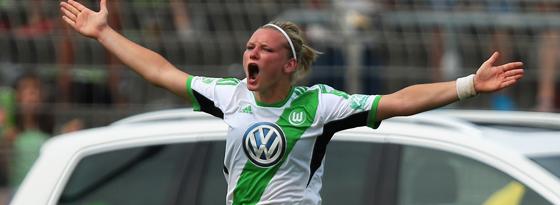 Fußballerin des Jahres 2014: Alexandra Popp vom VfL Wolfsburg.