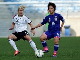 Verteidigt vorerst nicht mehr in der deutschen Defensive: Luisa Wensing (li.) ist verletzt.