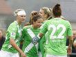 Jubelnde Wolfsburgerinnen: Kann Cloppenburg den VfL stoppen?
