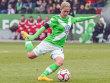 Hofft auf ihren ersten Einsatz im DFB-Dress: die Wolfsburgerin Anna Bl�sse.