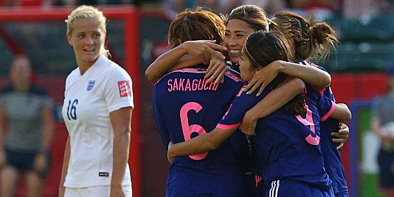 Japan feiert: Der Weltmeister steht im Finale, England spielt um Platz 3.