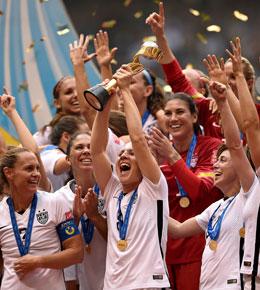 Verdienter Weltmeister 2015: Die US-Ladies.