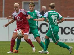 Frankfurt und Wolfsburg patzen - Bayern bleibt spitze