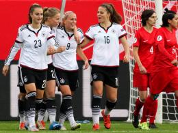 Deutschland siegt klar gegen die T�rkei