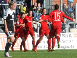 Sieg in Frankfurt: Bayern baut Tabellenf�hrung aus