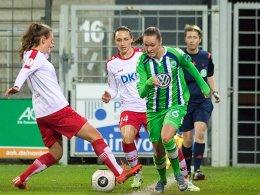 Wolfsburgs Revanche gl�ckt - Bayern muss nachsitzen
