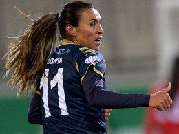 Titelverteidiger Frankfurt trifft auf Marta
