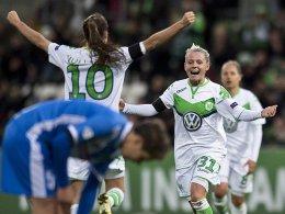 Wolfsburg legt Grundstein - FFC siegt bei Rosengard