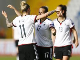 DFB-Frauen wollen gegen Kroatien EM-Ticket l�sen