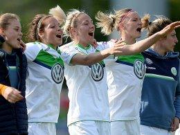 Jubel beim VfL Wolfsburg