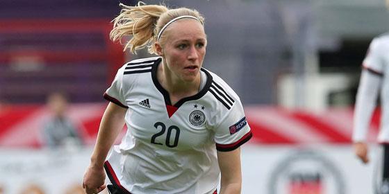 Die deutsche Nationalspielerin Pauline Bremer will mit Lyon die Champions League gewinnen.
