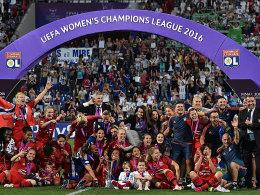 Europas Beste: Die Frauen von Olympique Lyon wurden CL-Sieger und stellen fast alle Kandidatinnen für die Wahl zur Fußballerin des Jahres.