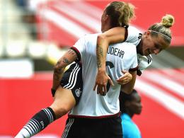 Viermal Mittag! Deutschland besiegt Ghana mit 11:0