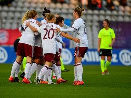 Bayern im CL-Achtelfinale - Laudehr gibt Comeback