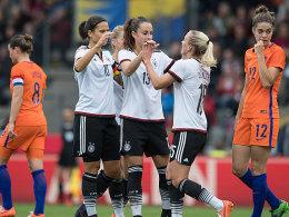 Das deutsche Team ließ den Niederlanden keine Chance und gewann wie schon gegen Österreich 4:2.