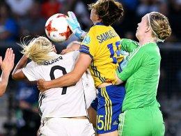 Remis zum EM-Auftakt: Schweden trotzt den DFB-Frauen