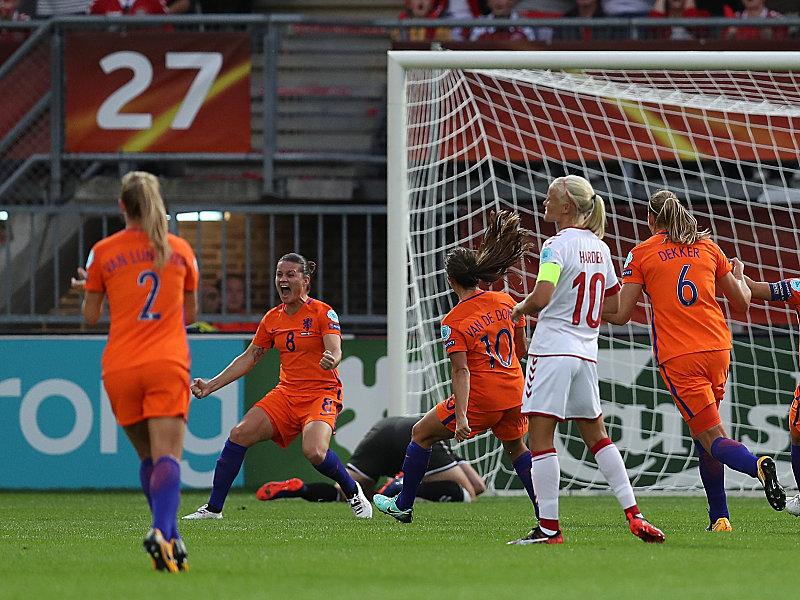 Sherida Spitse trifft vom Punkt zum Siegtreffer für die Niederlande
