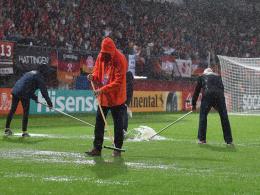 Starkregen: Viertelfinale der DFB-Frauen abgesagt!