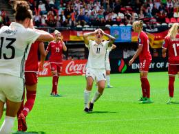 DFB-Frauen scheitern im Viertelfinale an Dänemark