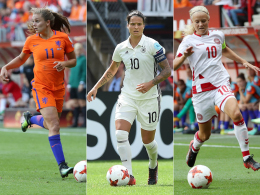 UEFA-Shortlist der Frauen: Harder, Marozsan, Martens
