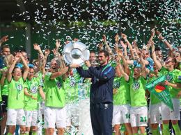 Vierkampf an der Spitze - mit Favorit Wolfsburg