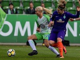 Harder hält Wolfsburg an der Spitze - Freiburg bleibt dran