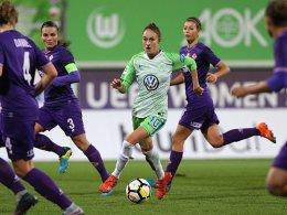 Pflicht erfüllt: Wolfsburg erreicht das Viertelfinale