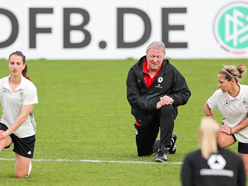 Kapitel Hrubesch beginnt: DFB-Frauen trainieren in Leipzig