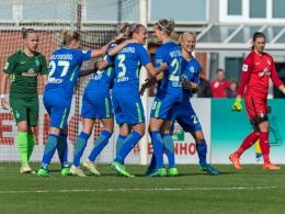 5:0 in Bremen: Wolfsburgerinnen dem Titel nahe