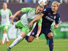 Krimi in Kiew: Lyon schlägt Wolfsburg in Überzahl