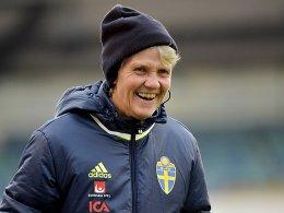 Sundhage tritt 2017 als Schwedens Nationaltrainerin zurück
