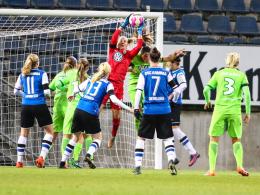 Mittag ebnet den Weg: VfL Wolfsburg im Viertelfinale