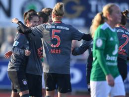 FCB-Frauen stürmen standesgemäß ins Viertelfinale