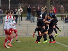 Frankfurt trotzt Potsdam - Wolfsburg per 8:1 an die Spitze