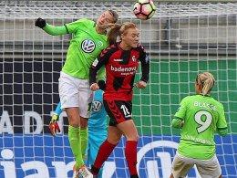 Wolfsburg im Halbfinale gegen den Lieblingsgegner