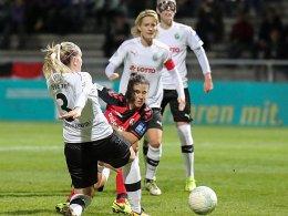 Wieder kein Sieg: FFC-Serie gegen Freiburg hält