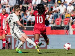 Dallmann entscheidet zähen Test gegen Kanada