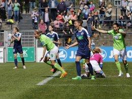 Sieg in Potsdam: Wolfsburg hat den Titel vor Augen